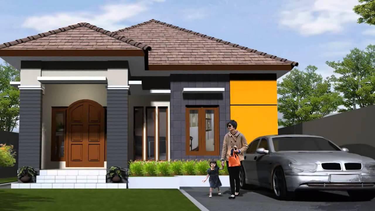 desain contoh gambar rumah minimalis 1 lantai terbaru