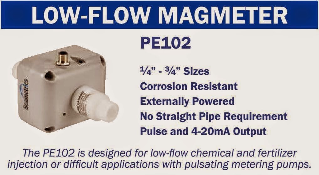 Low Flow Electromagnetic Flow Meter
