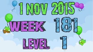 Angry Birds Friends Tournament level 1 Week 181