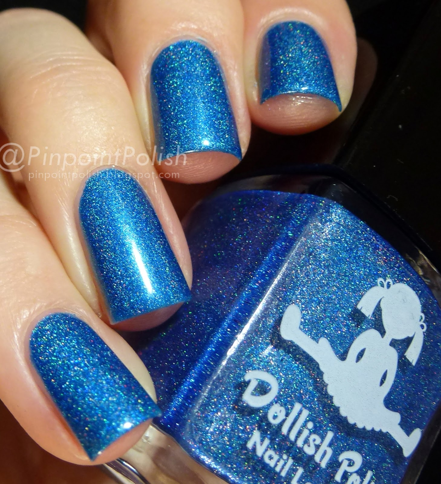 The Angels Have The Phone Box, Dollish Polish, Ultimate Fandom collection, swatch