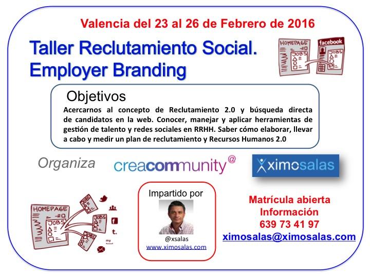 Próximo Curso en Valencia