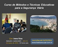 Curso com Irene Rios, em Balneário Camboriú