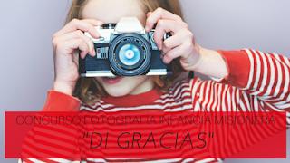 """Jornada Infancia Misionera 2016 - Concurso de fotografía """"Di gracias con una foto"""" Obras Misionales Pontificias"""