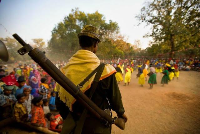 Maoist with gun