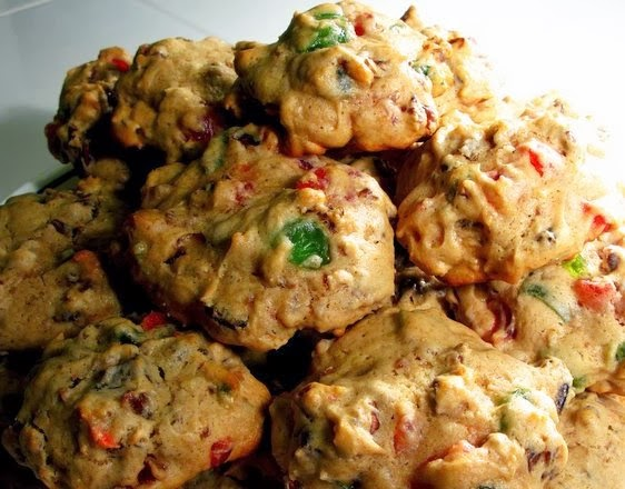 Recipe For Fruit Cake Cookies