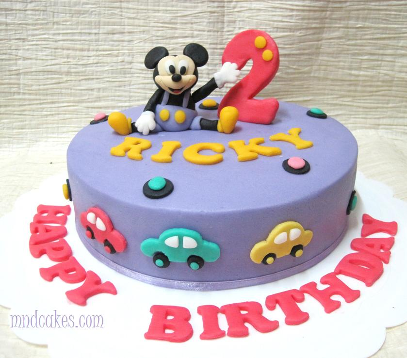 Mom And Daughter Cakes Mickey Minnie Mouse Themed Cakes