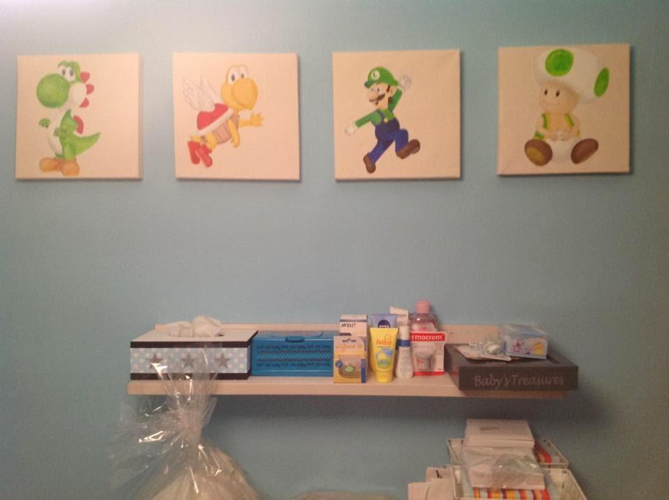 Leuk voor kids and moms schilderijtjes - Jongetje kamer idee ...