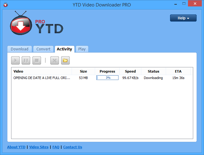 YTD Video Downloader Pro 4.8.1 Multilenguajev