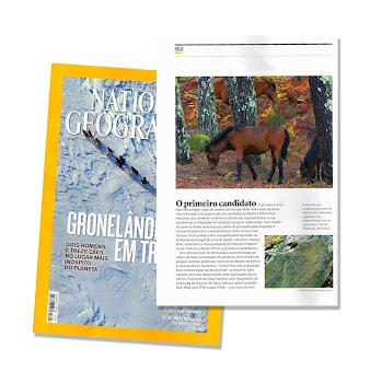 Colaboração na National Geographic de Fevereiro com um artigo sobre os Garranos. Prémio Best Edit.
