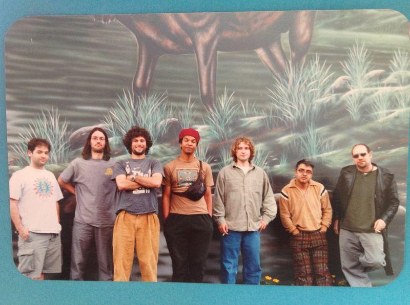 With Garaj Mahal in Oregon 2001