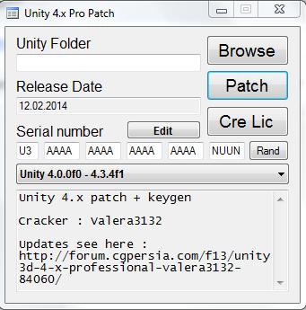unity 4x pro patch