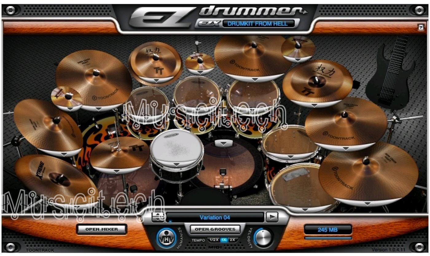 download ezdrummer