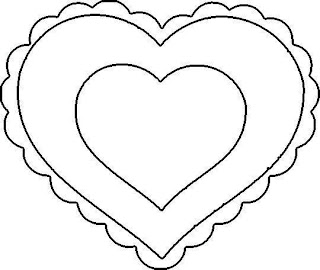 heart coloring pages to print out - my craft notebook haziran 2012