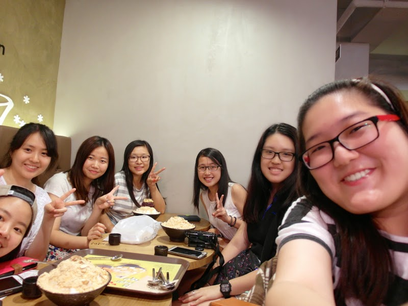 Ewha University Summer Studies Program Travel Seoul Korea Food Sulbing Injeolmi Bingsoo lunarrive blog singapore