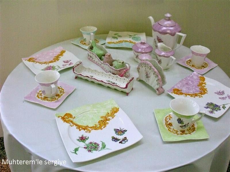 cam-porselen boyama