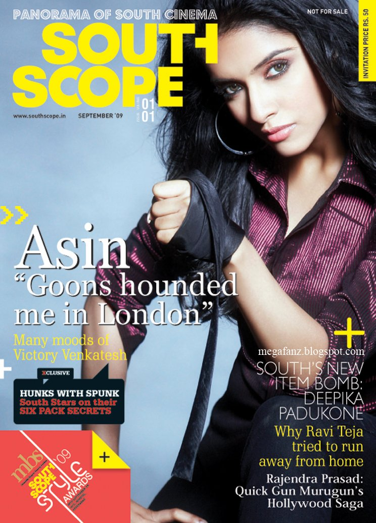 Asin South Scope Magazine Scan1 - Asin Thottumkal South Scope Magazine Scans