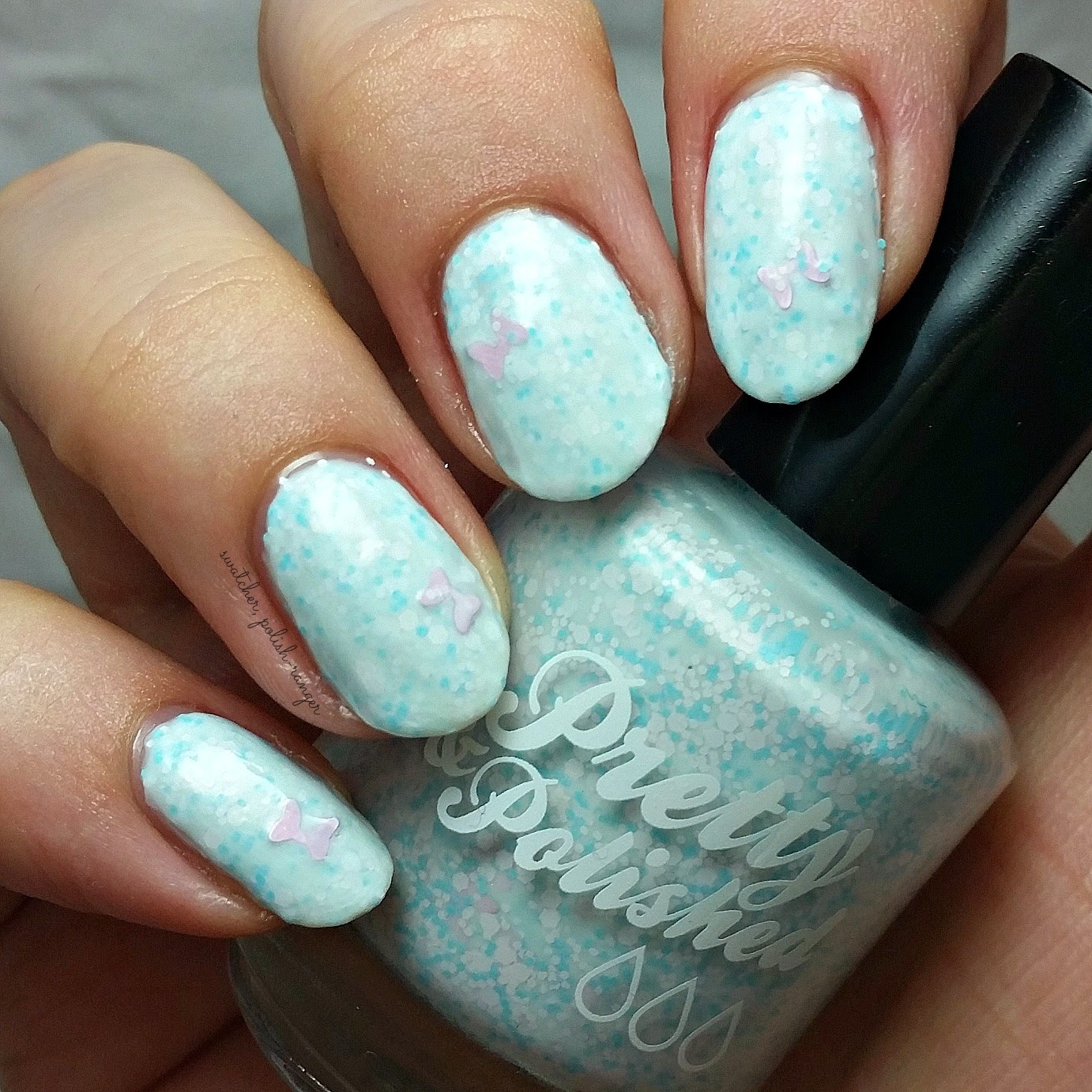 swatcher, polish-ranger | Pretty & Polished Pretty Little Lady swatch