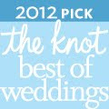 """The Knot Best of Weddings 2012 Pick"""