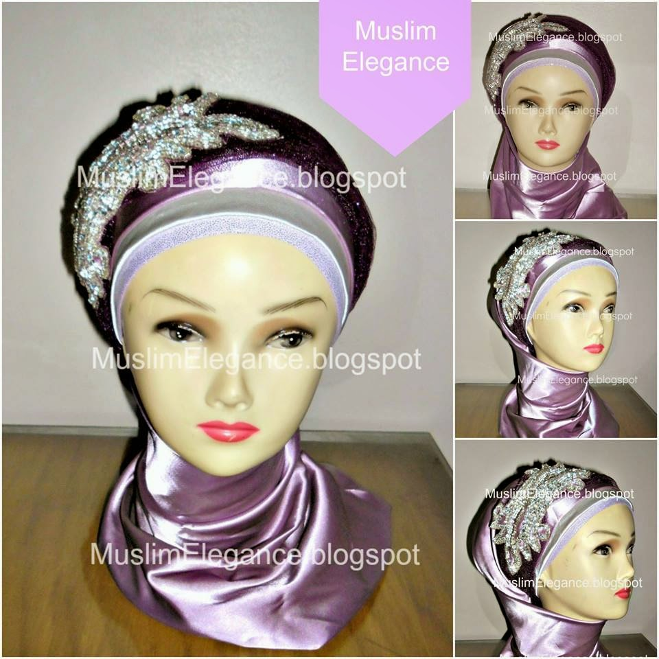 Hijab Muslim Elegance Headpiece