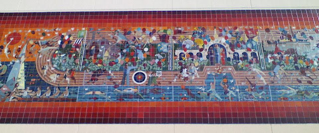 History los angeles county oympic fantasy mural for Thank you mural