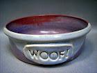 Lori Martone Pottery pet bowls