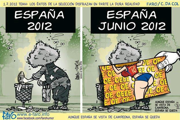 España, Espanha, Spain, Vencedor do Euro, Campiã da Europa, Campeão Europeu, Euro 2012, Euro Champion, Crise, Futebol