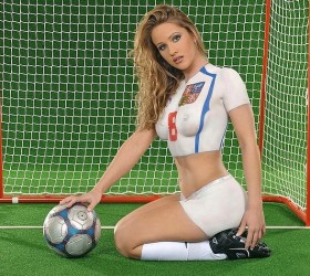 Hot Chicks Wearing Soccer Body Paint Images Free Download