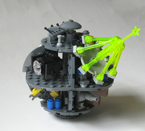 lego mini death star instructions