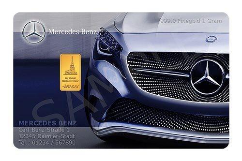 Branding Cards de Karatbars de Mercedes