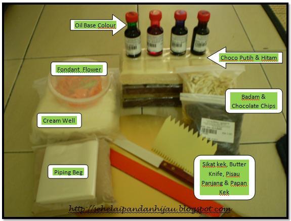 Keperluan Asas Membuat Kek