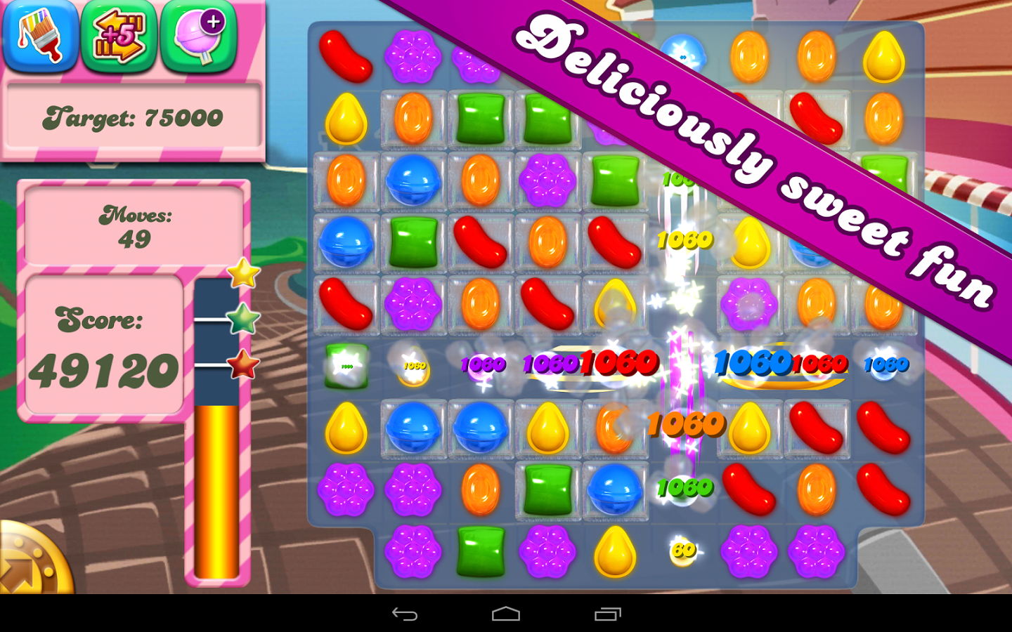 Candy Crush Saga Android Apk Oyun resimi 8