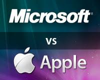 microsoft, apple