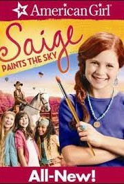 Ver An American Girl: Saige Paints The Sky (2013) Online