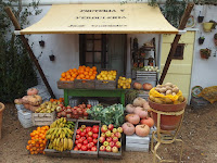 Senor Gonzalez's greengrocer's shop at Malvern Spring Show