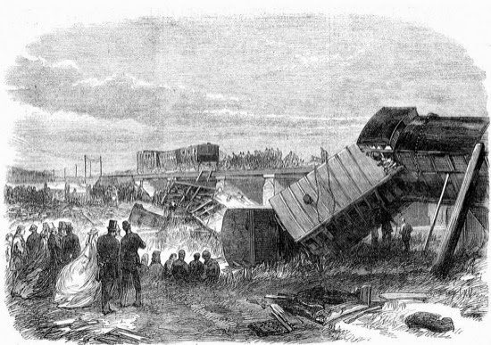 El accidente de tren de Charles Dickens