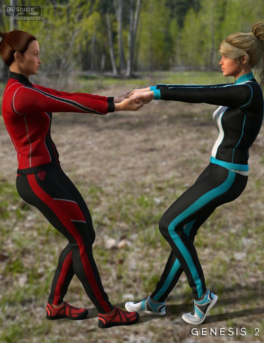 Workout Pre pour Genesis 2 Femme
