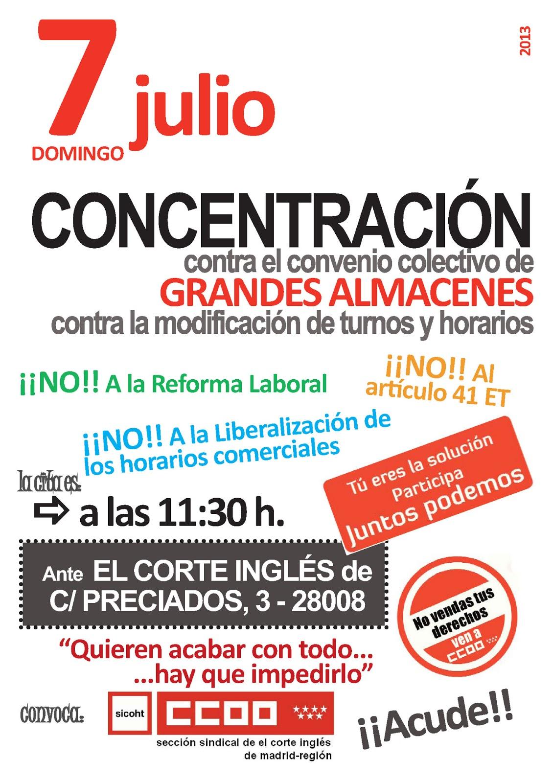 Infocorty 2013 for Corte ingles preciados
