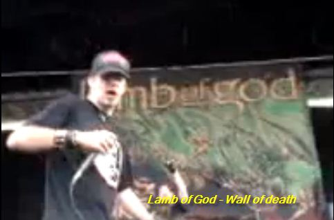 lamb of god wall of death - photo #24