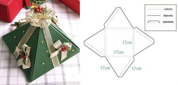 Как упаковать маленькие подарки своими руками