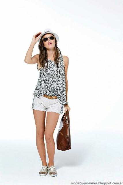 Koxis verano 2014 tops y shorts.