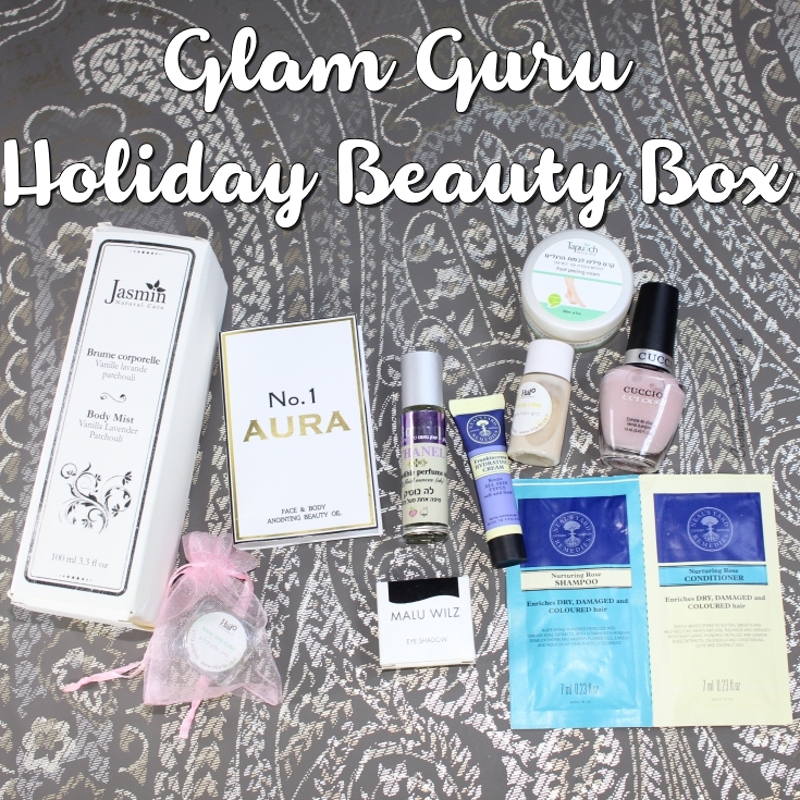 Here is my review and unboxing of the Glam Guru Israel Beauty Box for Holiday 2015.