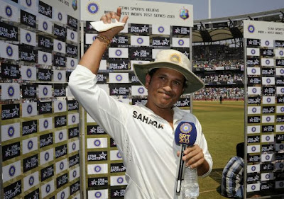 Sachin Speaks in Farewell
