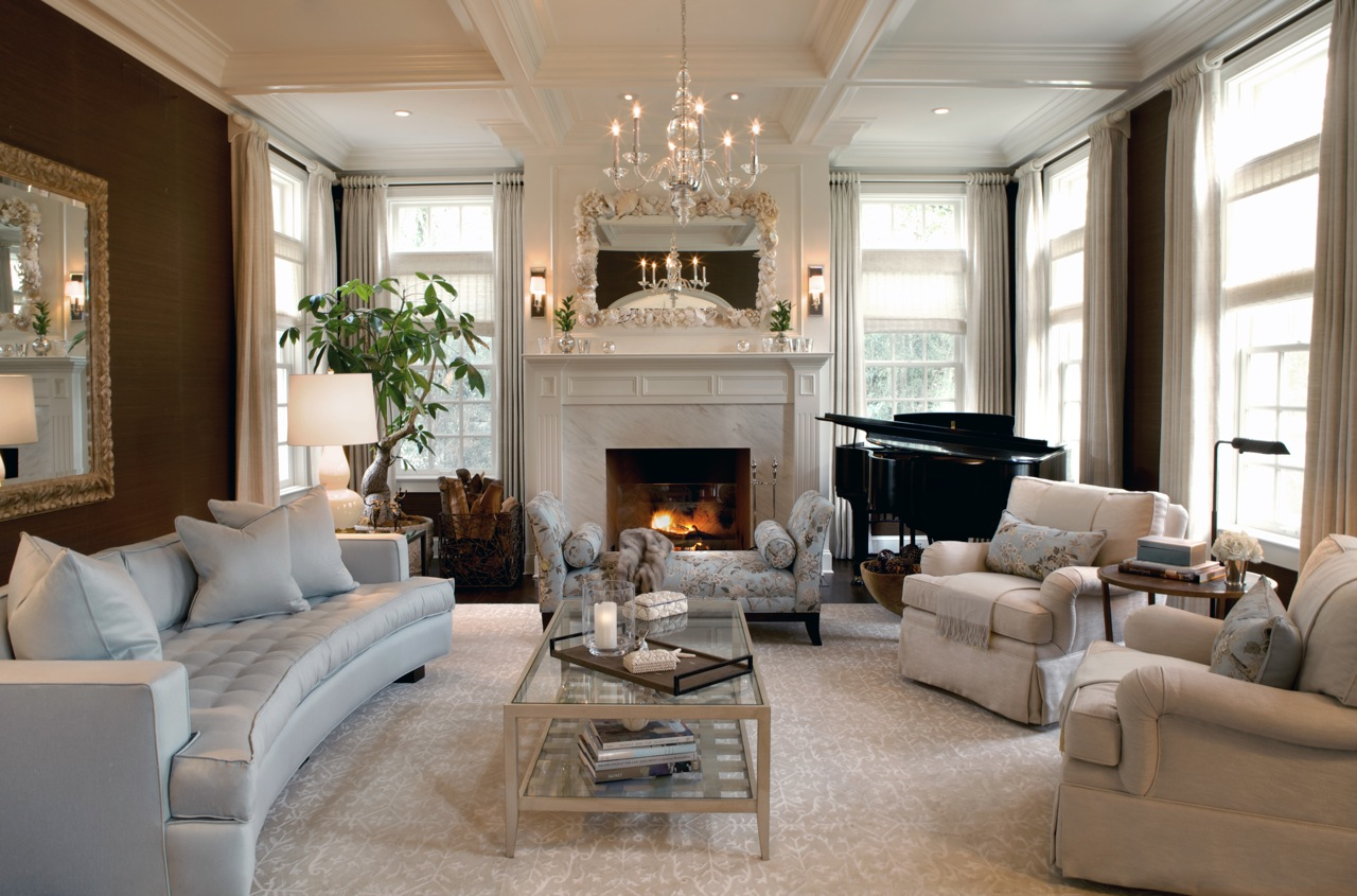 posh living rooms designs pictures