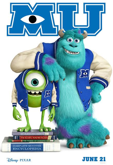 Poster de Monster University