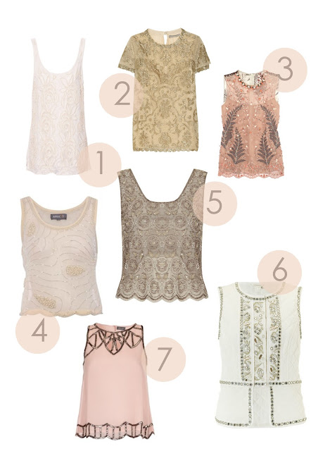 beaded tops, fashion tops, styling, sequins, embellished top