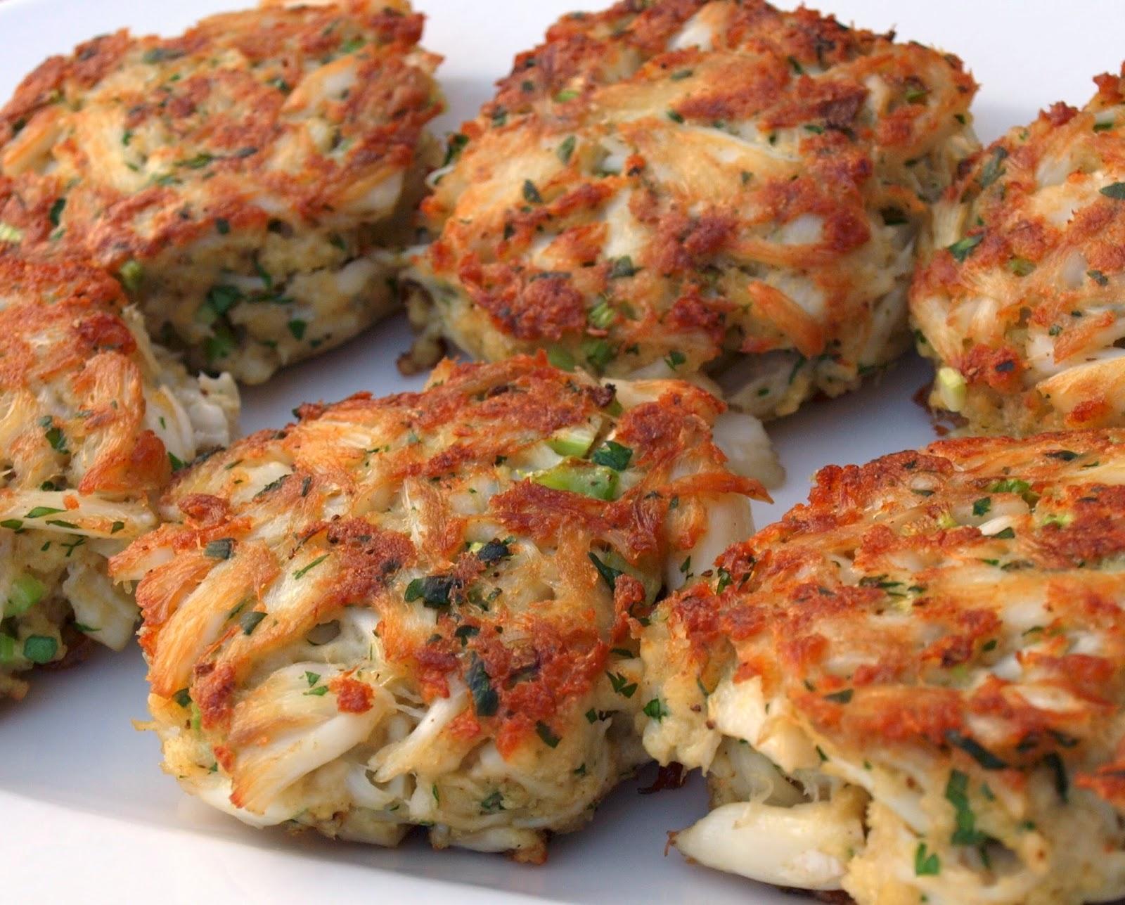 The Italian Fork: Sauteed Crab Cakes