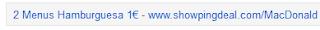 Imagen de ejemplo de anuncio display mediante el remarketing en Gmail