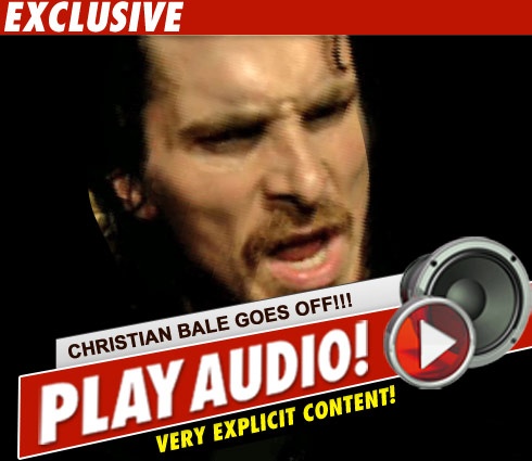 Christian bale an asshole