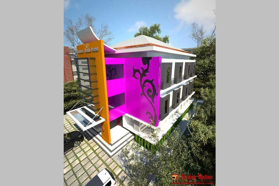 arsitektur rumah bergaya minimalis