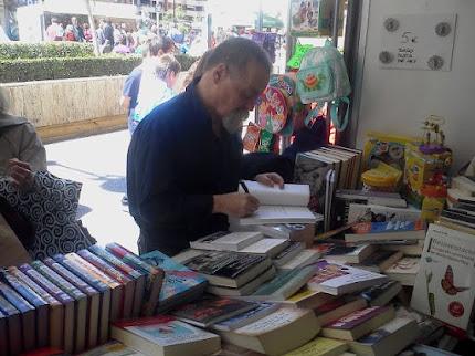 Pere Bessó en Feria del Libro